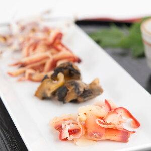 とまチョップ ほっき 珍味 4点セット 大丸水産株式会社 北海道