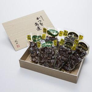 かつお角煮(K34)山上水産株式会社 静岡県 焼津港に水揚げされた鰹を、生から仕上げまで一貫して行う焼津の伝統製法で仕上げた角煮。