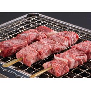 松阪牛串 3本入り 三重県産 松坂牛 松阪まるよし 冷凍 牛肉 和牛 国産 ブランド肉 バーベキュー 串焼き 肉