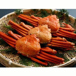 北海道産 紅ずわいがに 3尾 ズワイガニ セット 北海道 産地直送 海鮮 ズワイガニ姿 カニ 蟹 かに 冷凍 ゆで ボイル