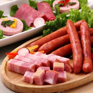 十勝ハム セット 技 北海道 ベーコン スパイスビーフ ウィンナー ソーセージ 十勝池田 惣菜 お弁当 おかず 詰め合わせ