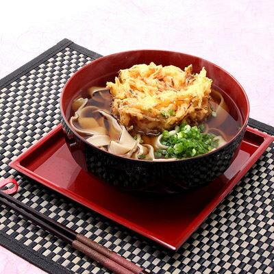 送料無料 そば グルメ 乾麺(日本蕎麦) おいしい群馬〈ひもかわそば〉2食入×6セット 株式会社叶屋食品