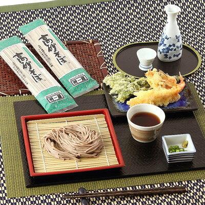 送料無料 そば グルメ 乾麺(日本蕎麦) 厳選されたそば粉と良質の水使用〈高砂そば〉5セット 株式会社叶屋食品