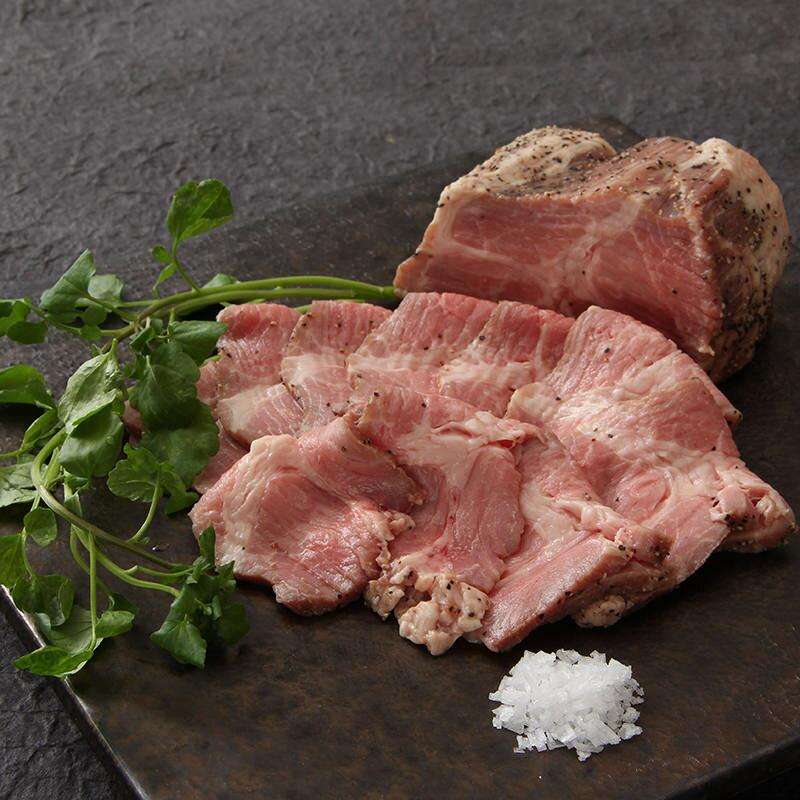 肉 お取り寄せ ロースト ポーク 熟成 240g ジューシーな肉汁 有限会社丸一高村本店 山梨県