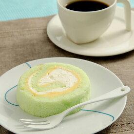 洋菓子 メロンロールケーキ 4個 お取り寄せスイーツ sweets ロールケーキ メロン 扇屋製菓 静岡県