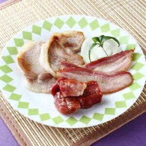 ハム お取り寄せハム ベーコン 3種セット 黒豚 手作り 燻製 香り工房てこ 鹿児島県