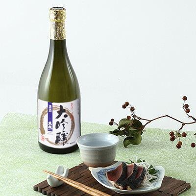 お酒 送料無料 日本酒 大吟醸酒 中谷酒造の究極の清酒 萬穣 大吟醸720ml 奈良県