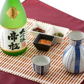 日本酒 大吟醸酒 気品の高い吟醸香とまろやかな喉ごし 帝松 大吟醸 720ml 松岡醸造株式会社 埼玉県