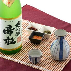 日本酒 大吟醸酒 気品の高い吟醸香とまろやかな喉ごし 帝松 松岡醸造株式会社 埼玉県 1800ml
