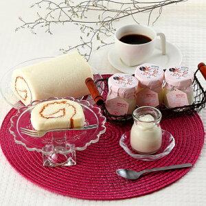 洋菓子 プリン お取り寄せスイーツ sweets ロールケーキ コラーゲン セット