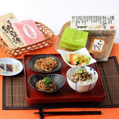 送料無料 原材料はすべて国産大豆 高畠納豆 豆食彩セット