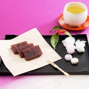 和菓子 羊羹 お取り寄せスイーツ 1本 干菓子 1箱 セット 奈良 最古 本家菊屋