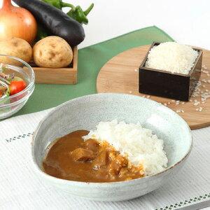 華カレー&福島県産米セット ホテル華の湯 華カレー&牛の華カレー3種5個+お米3合セット