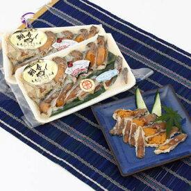 鮒ずしセット 天然ニゴロ鮒寿司スライスミニ4個箱入り