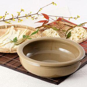 送料無料 手作り麺・ピザ生地が美味しく仕上がる こね鉢 25.5白 石見焼 麺打ち そば打ち パン作り ピザ作り