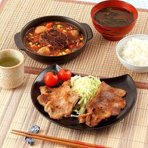 北海道 お取り寄せ お肉屋さん 惣菜セット 1100g しょうが焼 味噌漬 ハンバーグ