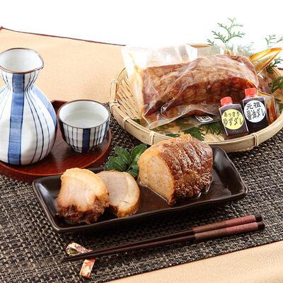 お取り寄せ 焼豚 ジューシー ばら肉 ヘルシー もも肉 2本セット 有限会社パイプライン 香川県