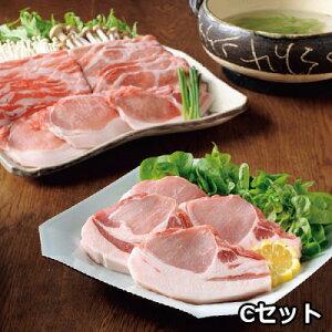 沖縄県産豚あぐーしゃぶしゃぶ・ロースステーキ用詰合せ 4.5 〔ロース肉・モモ肉・バラ肉 各300g×3、ロースステーキ(2枚切、計300g)×3〕