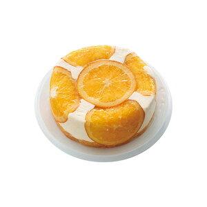 オレンジレアチーズケーキ〔4号サイズ〕
