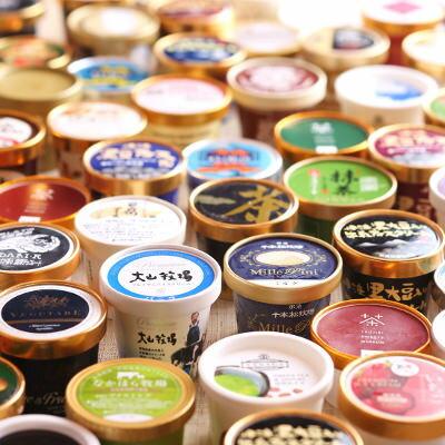 送料無料 アイスクリーム 全国ご当地アイス食べ比べ A全国の牧場バニラ食べ比べ・C抹茶の極み食べ比べ 12個セット やまざと