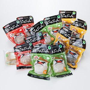 島こんにゃく12個セット 小島商店 長崎県 煮込んでよし、刺身でもよし。ザクザクっとした食感を楽しめる昔懐かしいこんにゃく