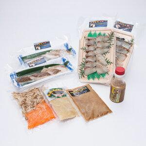グルメ 真鯛食べ比べセット 有限会社マキハラ 佐賀県 玄海町名物の真鯛を、しゃぶしゃぶやお茶漬け、炊き込みご飯などで満喫