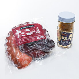 黄金の雫塩うに・煮たこセット 株式会社木村水産 宮城県 磯の香りが広がる絶品うにとプリプリ食感のたこを、石巻十三浜より直送