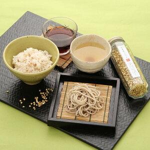 そば 乾麺(日本蕎麦) 京蕎麦 丹波ノ霧そば三昧セットB〔麺、つゆ(各4食)、そば茶7袋、そばの実130g〕