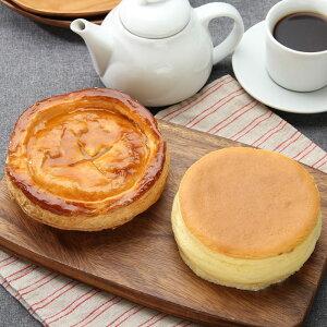 洋菓子 北海道 お取り寄せ オホーツク チーズスフレ アップルパイ セット