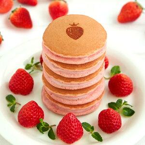 完熟いちごパンケーキ 美味しい冷凍パンケーキ 苺 いちごケーキ ホットケーキ 株式会社 谷常製菓 兵庫県