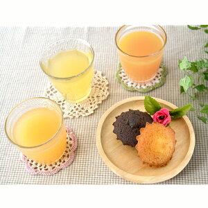 信州 なかひら農場 フルーツ飲料&スイーツセット HRAP-30 果汁 100%りんごジュース ストレートジュース 洋菓子 Cafe Etoile