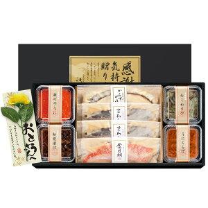 父の日 祇園又吉 西京漬 海鮮漬 父の日ギフト メッセージ付き 冷凍 惣菜 さわら 西京漬け 数の子うに おかず おつまみ 酒の肴