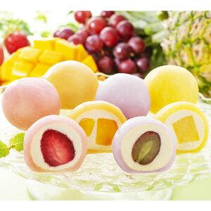 父の日ギフト 果実のキモチ 彩りフルーツ大福 F-YF-FD メッセージブーケ 大福 和菓子 お菓子 いちご大福 フルーツ大福 いちご ぶどう マンゴー 和スイーツ パイン だいふく デザート スイーツ