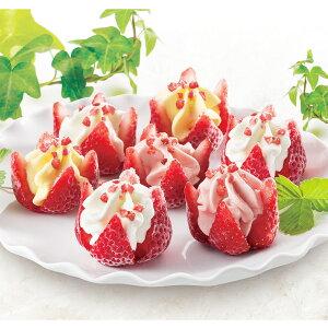母の日ギフト 博多あまおう 花いちごのアイス M-A-D7 3種 詰合せ アイス 洋菓子 スイーツ いちご アイスクリーム 苺 冷たいスイーツ デザート イチゴスイーツ 練乳 マンゴー 母の日 メッセージ