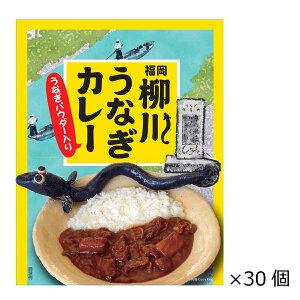 福岡柳川うなぎカレー 30個 200g 福岡県ご当地カレー レトルトカレー ビーフカレー 惣菜 お弁当 まとめ買い