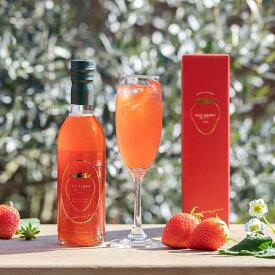 ジュース Sky Berry Drops 180ml 2本 セット 苺 いちご ストロベリー フルーツ 国産 栃木県産 新日本農業