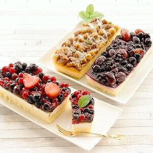 フルーツとナッツのケーキ3種セット ケーキ レアチーズケーキ イチゴ ベリー 冷凍 スイーツ デザート 洋菓子 おやつ お菓子