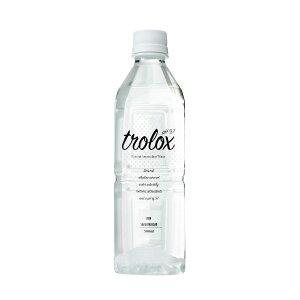 天然抗酸化水trolox トロロックス 500mlペットボトル セット 24本 詰合せ 500ml×24 保存水 水 天然水 ミネラルウォーター 軟水 高級 飲料水 国産 抗酸化 アルカリイオン水 温泉水 ペットボトル【沖