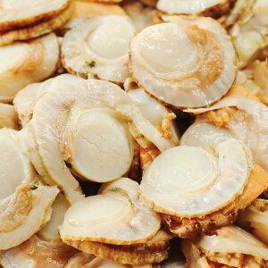 ボイルベビーホタテ 1kg×2 ホタテ ベビーホタテ ゆで ボイル 稚貝 貝類 冷凍 スチームボイル 加熱調理用 北海道 一印高田水産