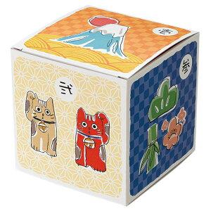 草加せんべい 縁起物BOX サイコロ 6個セット 5種 詰合せ 6箱 セット せんべい 和菓子 煎餅 炭火手焼き 伝統製法 ギフトボックス 化粧箱入り かたやき ごま のり えび 辛し 老舗 小宮のせんべい