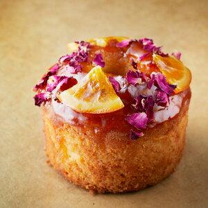 フラワーデコレーションのオレンジケーキ 3箱セット 詰合せ ケーキ 洋菓子 スイーツ 焼き菓子 パウンドケーキ オレンジケーキ フラワー オレンジ デコレーション デコレーションスイーツ