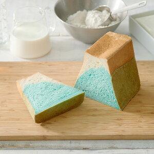 FUJISANSHOKUPAN 5本セット 詰合せ 食パン 冷凍 パン 生食パン 2色 かわいい 富士山モチーフ 朝食 ランチ 軽食 おやつ ギフト ギフトボックス入り 静岡 食パン専門店 FUJISAN SHOKUPAN