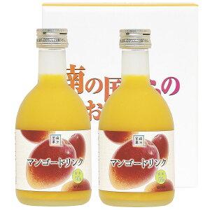 マンゴードリンク 300ml×2本セット 2本 詰合せ マンゴージュース ジュース マンゴー アルフォンソマンゴー アップルマンゴー フルーツジュース 宮崎 宮崎果汁