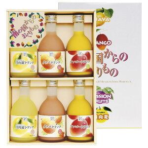ドリンク300ml×6本 3種 詰合せ ジュース グァバドリンク グァバ 国産 宮崎産 マンゴー アップルマンゴー アルフォンソマンゴー マンゴードリンク 日向夏 ひゅうがなつ 日向夏ドリンク 柑橘 フ