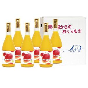 マンゴードリンク 720ml×6本セット 6本 詰合せ マンゴージュース ジュース マンゴー アルフォンソマンゴー アップルマンゴー フルーツジュース 宮崎 宮崎果汁