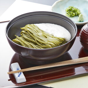 浅草むぎとろ とろろ茶そば 6食 セット 詰合せ そば 茶そば とろろそば 乾麺 蕎麦 茶蕎麦 とろろ 大和芋 長芋 麺類 つゆ付き 老舗 浅草 東京