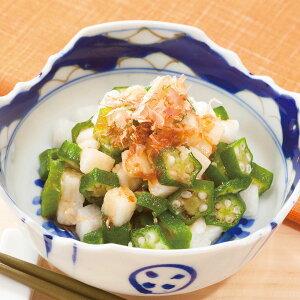 手軽に使える冷凍野菜 オクラと長芋ミックス 野菜 冷凍 オクラ タイ産 長芋 国産 カット野菜 栄養満点 簡単 手軽 冷凍野菜 和え物 サラダ おかず