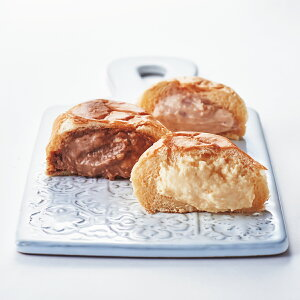 八天堂 プレミアムフローズンくりーむパン 8個 3種 詰め合わせ クリームパン はってんどう 洋菓子 冷凍 冷たいスイーツ スイーツ カスタード チョコ ストロベリー いちご デザート 詰合せ 菓