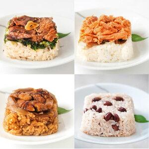 国産素材8種の彩りご飯 詰め合わせ 8種 詰合せ おこわ 惣菜 冷凍 国産 和風惣菜 ごはんもの ちりめん高菜 玄米ごはん かしわごはん 赤飯 和牛ごはん 温めるだけ 簡単調理 特別栽培米 夢しず