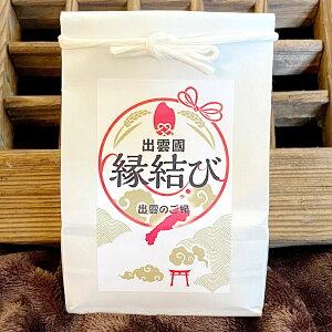 出雲縁結び米 300g×6 お米 島根県産 米 縁起物 白米 ギフト おしゃれ 小分けパック ごはん 精白米
